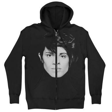 Tegan & Sara Split Face Hoodie