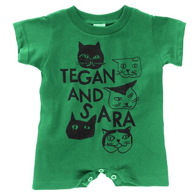Tegan & Sara Baby Cat Romper
