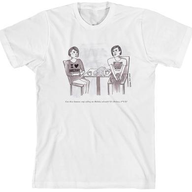 Tegan & Sara Cat Cartoon T-Shirt