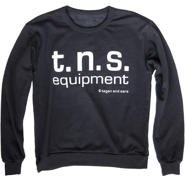 Tegan & Sara TNS Equipment French Terry Pullover