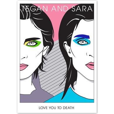 Tegan & Sara Nagel Silkscreen poster