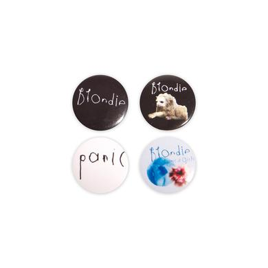 Blondie Badge Set