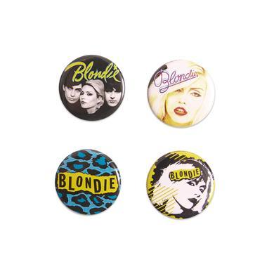 Blondie Classic Logo Button Set