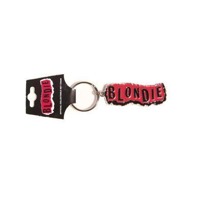 Blondie Punk Logo Keychain