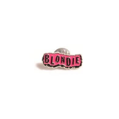Blondie Punk Logo Pin