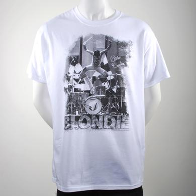 Blondie Clem Burke T-Shirt (White)