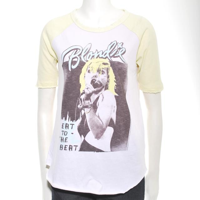 Blondie Distressed Eat To The Beat Raglan