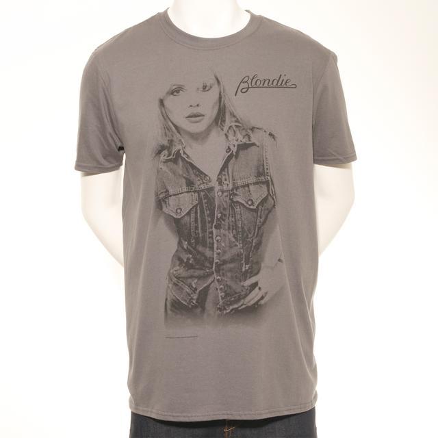 Blondie Men's Debbie In Denim Print T-Shirt