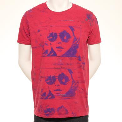 Blondie Triple Play Hand Painted Unique Men's T-Shirt