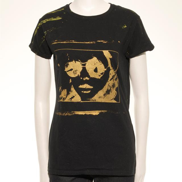 Blondie Splash Sleeve Hand Painted Unique Women's T-Shirt