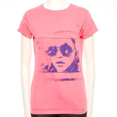 Blondie Red Rover Hand Painted Unique Women's T-Shirt