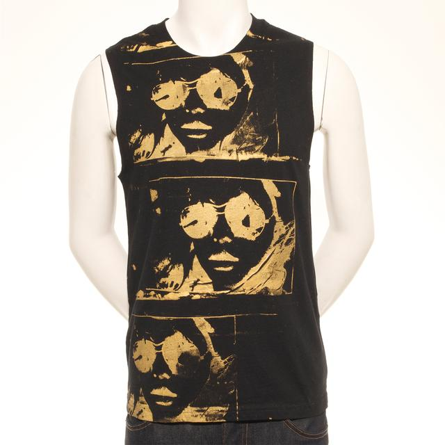 Blondie Infrared Specs Hand Painted Unique Men's Tank