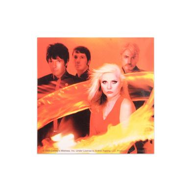 Blondie Ring Of Fire Band Photo Sticker