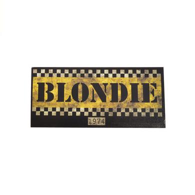 Blondie NYC Taxi '74 Sticker