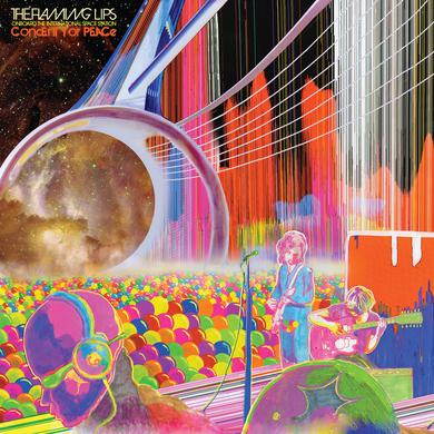 The Flaming Lips Onboard The International Space Station Concert For Peace CD