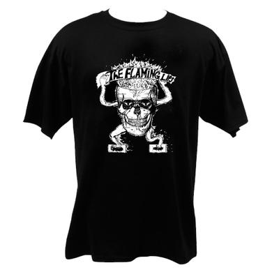 The Flaming Lips Flaming Skull Black T-Shirt