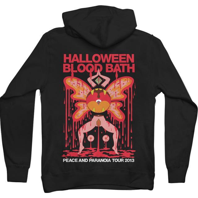 The Flaming Lips Halloween Blood Bath Hoodie