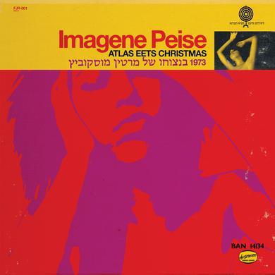 "The Flaming Lips ""Imagene Peise — Atlas Eets Christmas""; Transparent red vinyl"