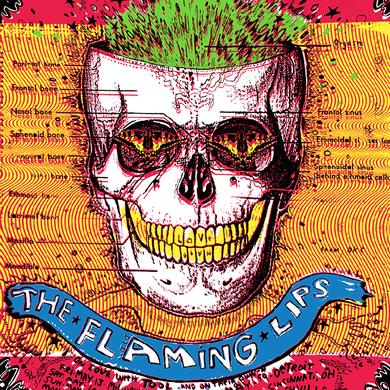 "The Flaming Lips Green Skull 18""x24"" Screenprinted Lithograph"