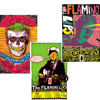 The Flaming Lips 2015 Vintage Poster Set