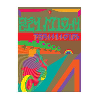 The Flaming Lips Riders Screen Printed Poster