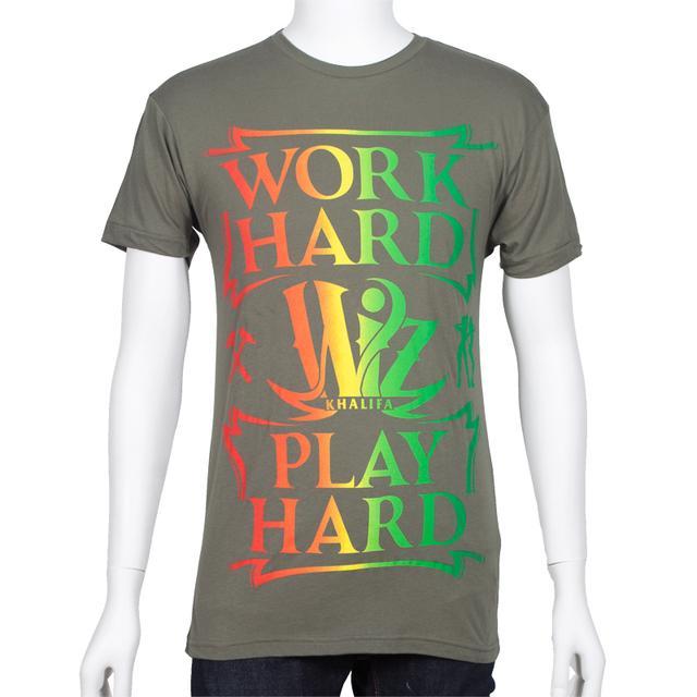 Wiz Khalifa Work Hard, Play Hard T-Shirt