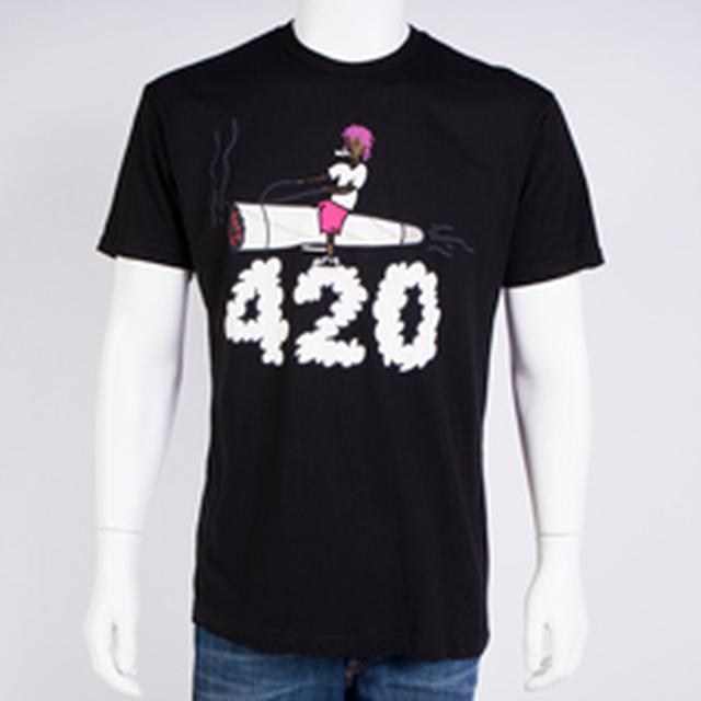 Wiz Khalifa 420 Slim Fit T-shirt