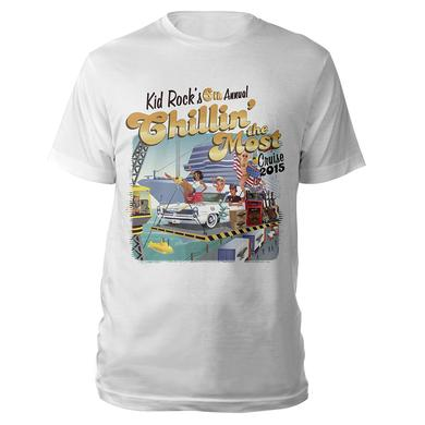 Kid Rock 6th Annual Chillin' The Most Cruise 2015 T-Shirt