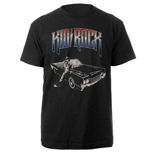 Kid Rock Patriotic Car T-Shirt