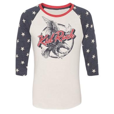 Kid Rock Classic Eagle USA Premium Raglan