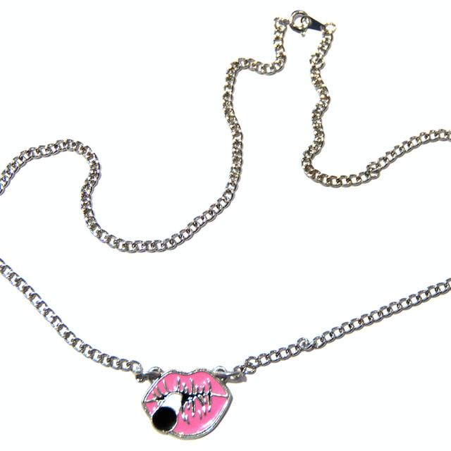 Kid Rock Lips Necklace