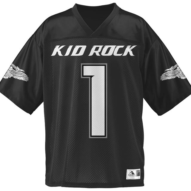 Kid Rock Fucks Given Black Jersey
