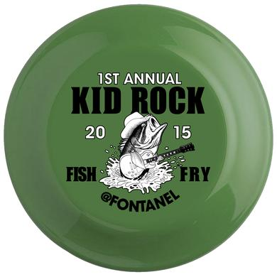 Kid Rock 2015 Fish Fry Frisbee