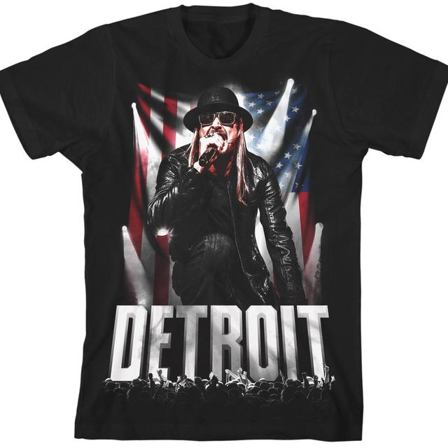 Kid Rock Spirit Of Detroit 10 Show T-Shirt