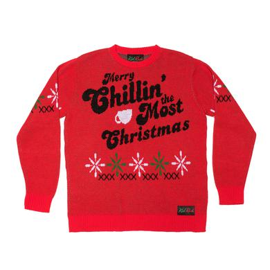 Kid Rock Chillin' the Most Holiday Sweater
