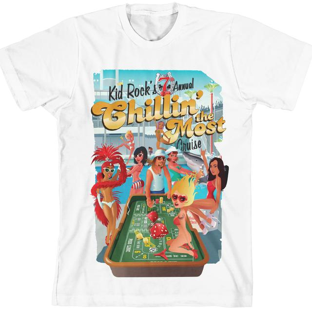 Kid Rock 7th Annual Chillin' the Most Deck Party T-Shirt