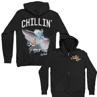Kid Rock 7th Annual Chillin' the Most Shark Chillin' Hoodie
