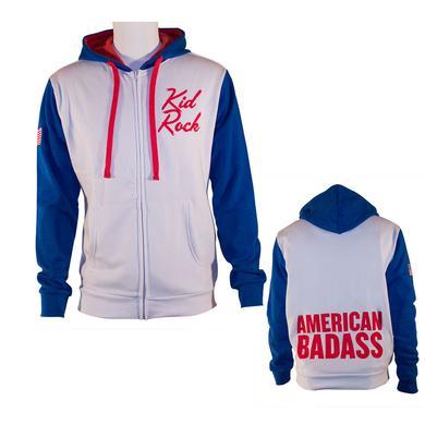 Kid Rock American Badass Zip Hoodie