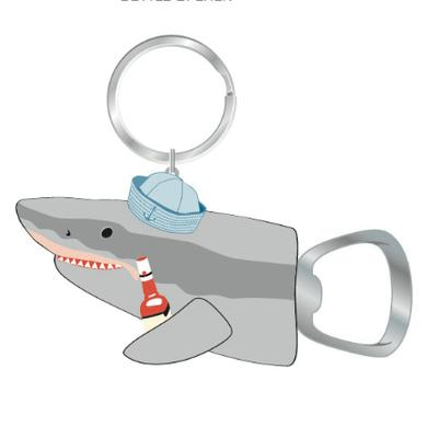 Kid Rock Chillin Shark Bottle Opener