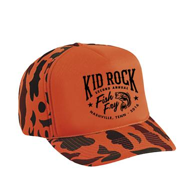Kid Rock Fancy Fish Camo Trucker