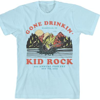 Kid Rock Vintage Drinkin' Blue T-Shirt