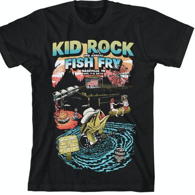 Kid Rock Fish Fry 2016 Scene T-Shirt