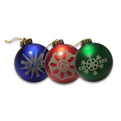 Kid Rock Fire Arm Ornament Set