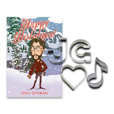 Josh Groban Custom Holiday Cookie Cutter Set