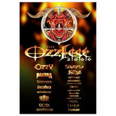 Ozzy Osbourne Ozzfest 2000 Poster