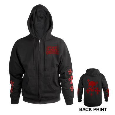 Ozzy Osbourne Ozzy Zip-Up Hooded Sweatshirt