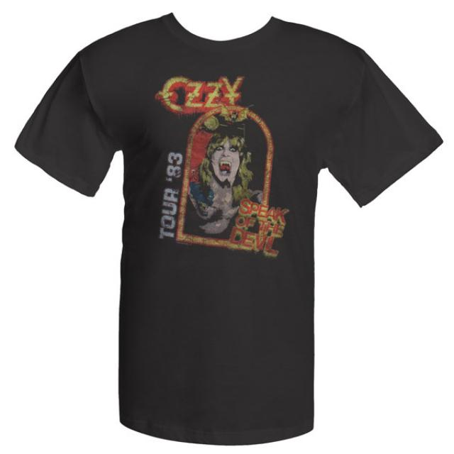 Ozzy Osbourne Ozzfest  Speak of the Devil T-shirt
