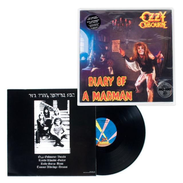 Ozzy Osbourne Diary Of A Madman 180gm Vinyl