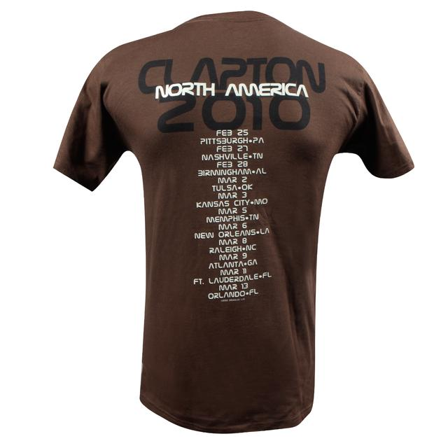Eric Clapton 2010 North American Tour Fool T-Shirt