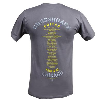 Eric Clapton 2010 Crossroads Chicago T-Shirt